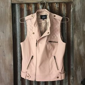 Luii from Anthropologie vegan leather vest